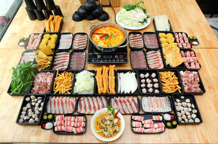 Buffet giá rẻ 89k tại Bếp Thái Rama
