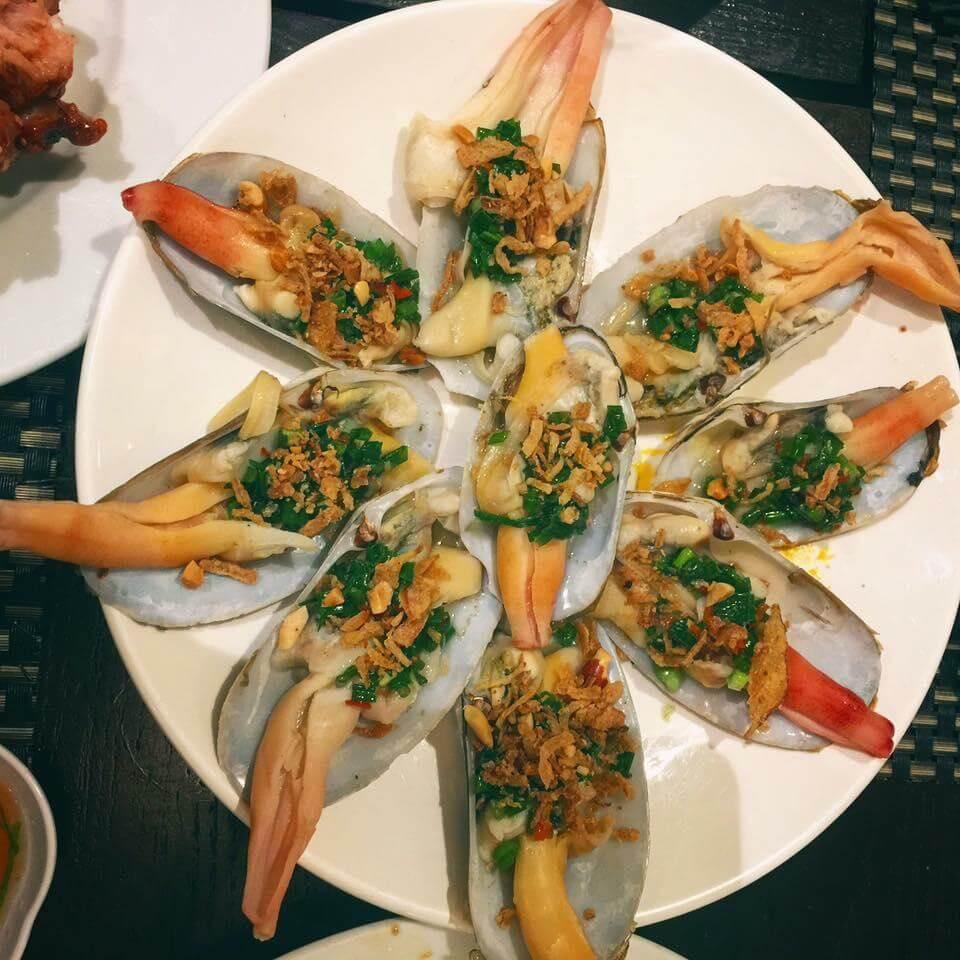 Món ăn giữ được mùi vị đặc trưng của hải sản