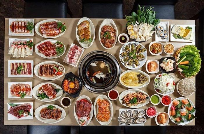 Set buffet lẩu hấp dẫn tại Season BBQ