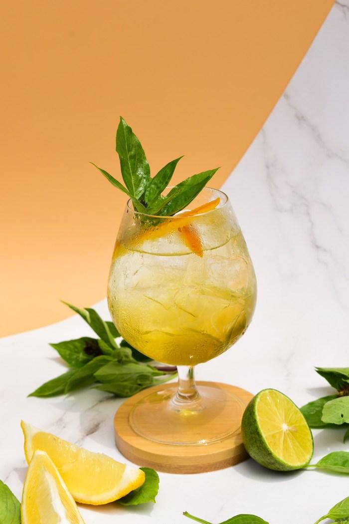 Cocktail Blossom Citron thích hợp cho phong cách dịu nhẹ của phái nữ